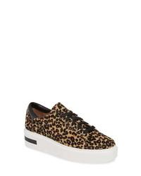 Linea Paolo Kendra Genuine Calf Hair Platform Sneaker