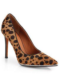 Givenchy Leopard Print Calf Hair Pumps