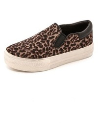 Jam leopard haircalf slip on sneakers medium 125764