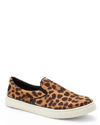 Leopard Print Emmie Slip On Sneakers