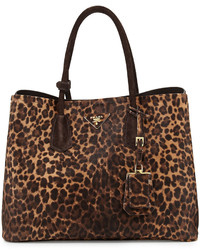 Cavallino double bag honeybrown medium 347323