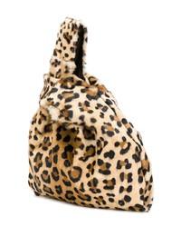 1cfd3042ac10 ... Simonetta Ravizza Leopard Fur Tote Bag