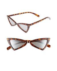 Leith 52mm Angular Cat Eye Sunglasses