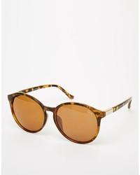 Asos Quay Flyn Round Sunglasses