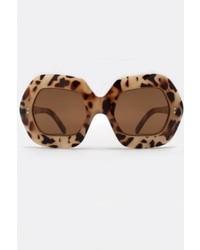 Quay Australia Rockbaby Leopard Sunglasses