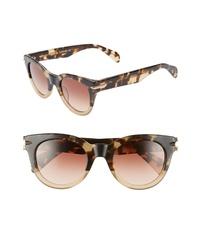 Rag & Bone Core 50mm Cat Eye Sunglasses