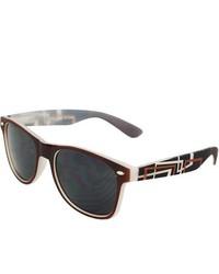 MLC Eyewear Urban Brown Rubber Soft Touch Sunglasses