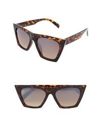 NEM Posh 50mm Gradient Angular Sunglasses