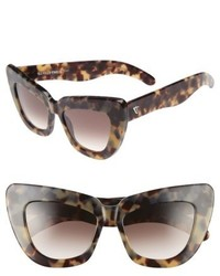 Valley 50mm genius child cat eye sunglasses desert leopard tortoise medium 6843791