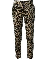 Etro Leopard Print Trousers