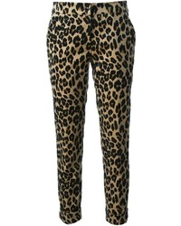 Leopard print trousers medium 236880