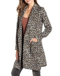 Cupcakes And Cashmere Leopard Trench Coat