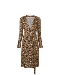 Dvf Diane Von Furstenberg Leopard Wrap Dress