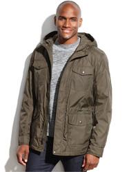 Hooded four pocket anorak medium 119954