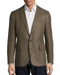 Regular fit linen blazer medium 1192721