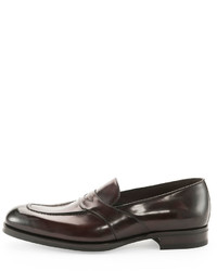 5861cd48a70 ... Tom Ford Charles Penny Loafer Dark Brown