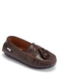 Venettini Toddlers Kids Garda Leather Tassel Loafers
