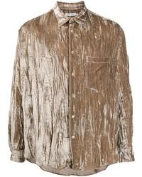 Cmmn Swdn Crinkled Oversize Shirt