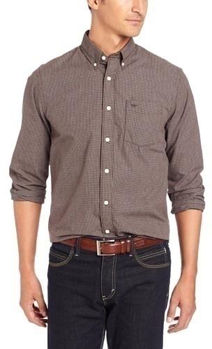 Dockers Mini Check Long Sleeve Shirt