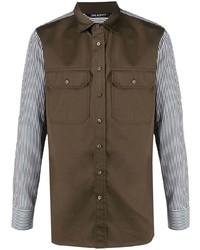 Neil Barrett Panelled Field Shirt