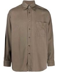 Tom Ford Patch Pocket Lyocell Shirt