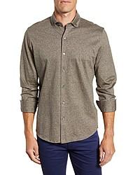 Bugatchi Regular Fit Knit Shirt