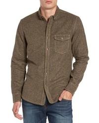 Jeremiah Utah Nep Heather Flannel Shirt