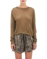 Brown long sleeve t shirt original 1284621