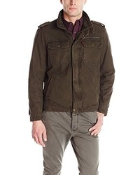 Levi's Washed Cotton Two Pocket Military Jacket