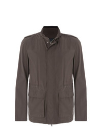 7ae4eeec6aa39 Herno Mid Length Elastic Waist Jacket