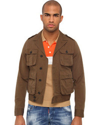 DSQUARED2 Military Chic Bomber