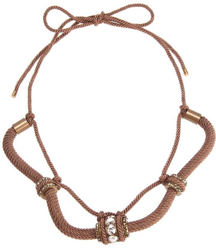 Lanvin Embellished Necklace