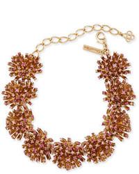 Oscar de la Renta Crystal Firework Station Necklace