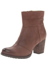 Brown Nubuck Ankle Boots