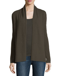 Cashmere collection open cashmere cardigan medium 4948517
