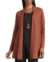 Long wool cardigan petite medium 843860