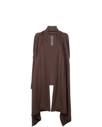 Rick Owens Open Front Trapeze Cardigan