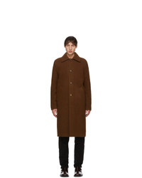Séfr Brown Wool Ian Coat