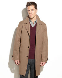 Men's Brown Overcoats from Macy's | Men's Fashion