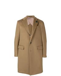 Lardini Single Breasted Fitted Coat
