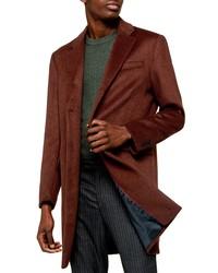 Topman Single Breasted Long Coat