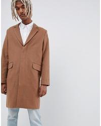Weekday Spencer Overcoat Camel