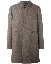 A.P.C. Woven Single Breasted Coat