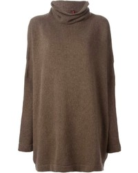 Daniela gregis oversized funnel neck sweater medium 148323