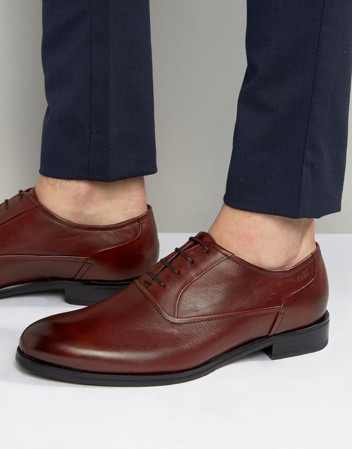 d97d8ae0c63 $173, Hugo Boss Boss Hugo By Tempt Oxford Shoes