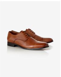 Express Leather Cap Toe Oxford Dress Shoe