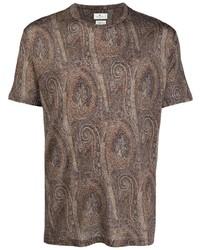 Etro Paisley Print T Shirt