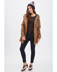 Women s Brown Parkas by Forever 21  acc1b4252e