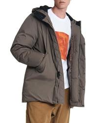 rag & bone M42 Water Resistant 550 Fill Power Down Hooded Puffer Jacket