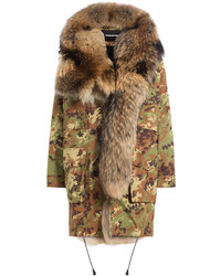 Dsquared2 Parka With Fur Lining